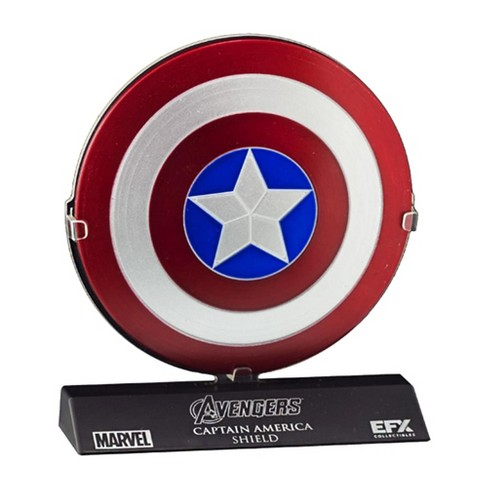 "Marvel's The Avengers Captain America Shield 1:6 Scale Prop Replica (4"" diameter) - image 1 of 1"