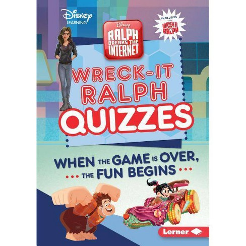 Wreck-It Ralph Quizzes - (Disney Quiz Magic) by  Heather E Schwartz (Hardcover) - image 1 of 1