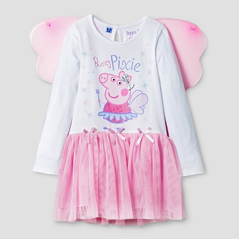 7cc2c1d7f Toddler Girls' Peppa Pig Tutu Dresses Pink 2T : Target
