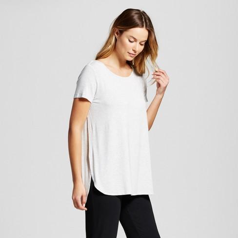 9745ab220ad Maternity Nursing Sleep T-Shirt - Gilligan & O'Malley™ - Light Gray ...