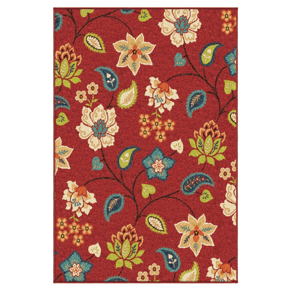 Orian Rugs St. Thomas Promise Indoor/Outdoor Area Rug - Red