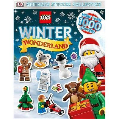 Lego Winter Wonderland - (Ultimate Sticker Collection) by  DK (Paperback)