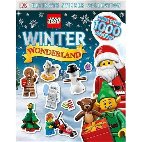 Lego Winter Wonderland - (DK Ultimate Sticker Collections) (Paperback) - image 1 of 1