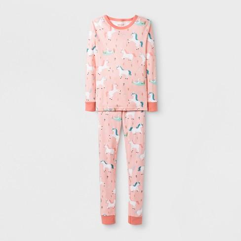 1cb54043d85 Toddler Girls  Unicorn 2pc Pajama Set - Cat   Jack™ Peach 4T   Target