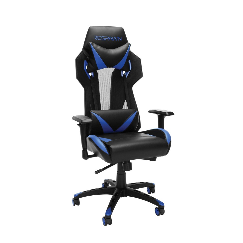 Image of 205 Racing Style Gaming Chair Blue - RESPAWN