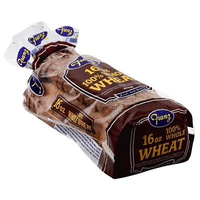 Franz 100% Whole Wheat Bread - 16oz