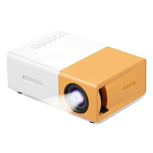 Dartwood HD Mini Projector with Support for HDMI, USB, and Memory SD - Enhance Your Movie, TV, and Gaming Experience - image 1 of 4