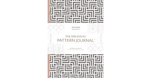 Dreamday Pattern Journal Art Deco - Manhattan : Coloring-In Notebook for writing, musing, drawing and - image 1 of 1