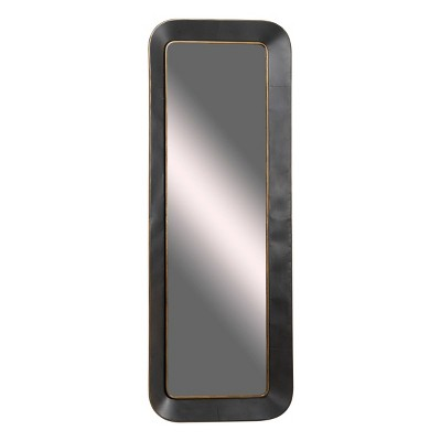 """25"""" x 70"""" Large Rectangular Metal Wall Mirror with Decorative Gold - Olivia & May"""