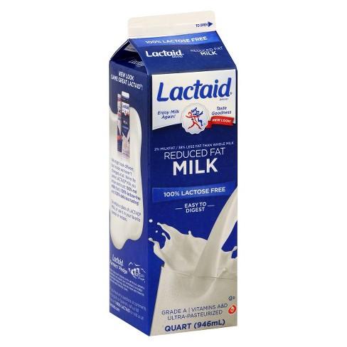 Lactaid Lactose-Free 2% Milk - 1qt - image 1 of 1