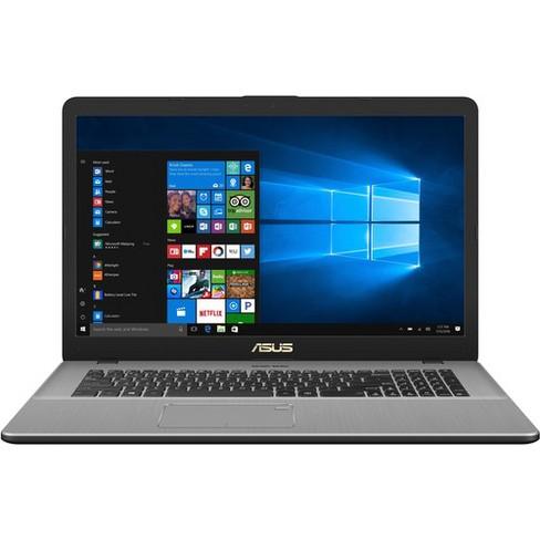 "Asus VivoBook Pro 17 N705FD-DS77 17.3"" Notebook - 1920 x 1080 - Core i7 i7-8565U - 16 GB RAM - 512 GB SSD - Star Gray Metal - Windows 10 64-bit - image 1 of 4"