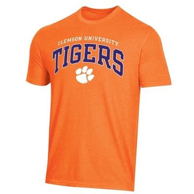 NCAA Clemson Tigers Men's Short Sleeve Heather T-Shirt