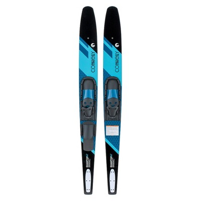 CWB Connelly 61200342-CON Quantum Waterskiing Lake Water Sports Skis with Bindings 68-inch, Blue