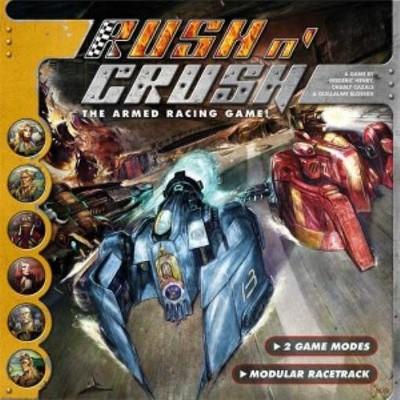 Rush n' Crush Board Game
