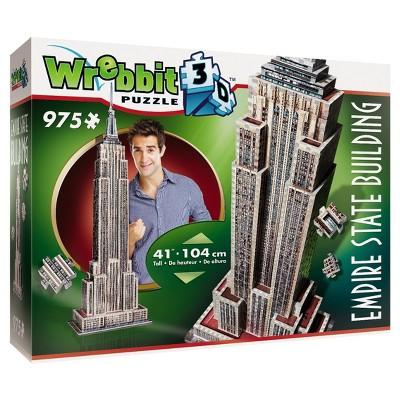 Wrebbit 2007 Empire State Building 3D Puzzle 975pc