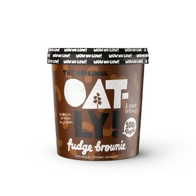 Oatly! Chocolate Fudge Brownie Non-Dairy Frozen Dessert - 16oz
