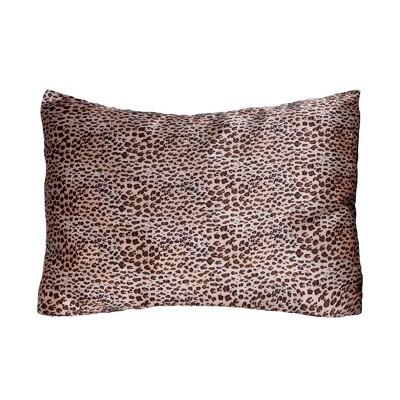 Standard 2pk 600 Thread Count Satin Printed Pillowcase Set - Morning Glamour
