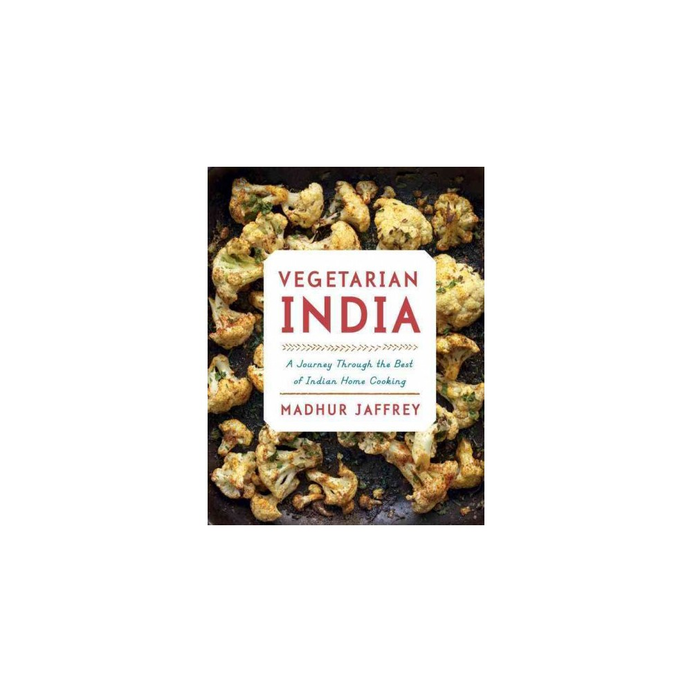 Vegetarian India : A Journey Through the Best of Indian Home Cooking (Hardcover) (Madhur Jaffrey)
