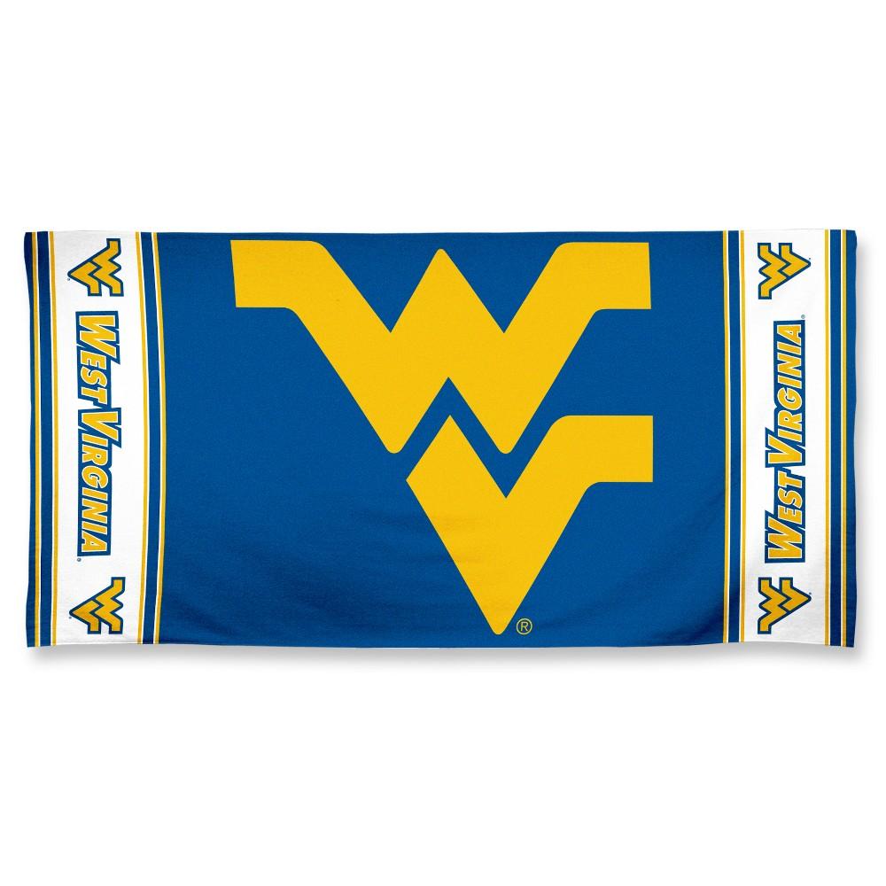 NCAA West Virginia Mountaineers Beach Bath Towel