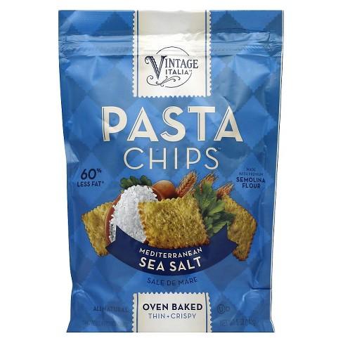 Vintage Italia Mediterranean Seasalt Pasta Chips 5 oz 12 pack - image 1 of 1