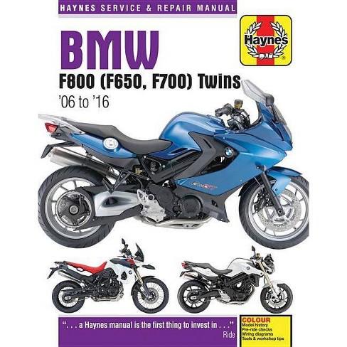 BMW F800 (F650, F700) Twins - (Haynes Service & Repair Manual) (Paperback) - image 1 of 1