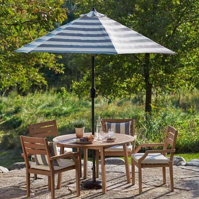 Chesapeake 5pc Wood Patio Dining Set - Threshold™