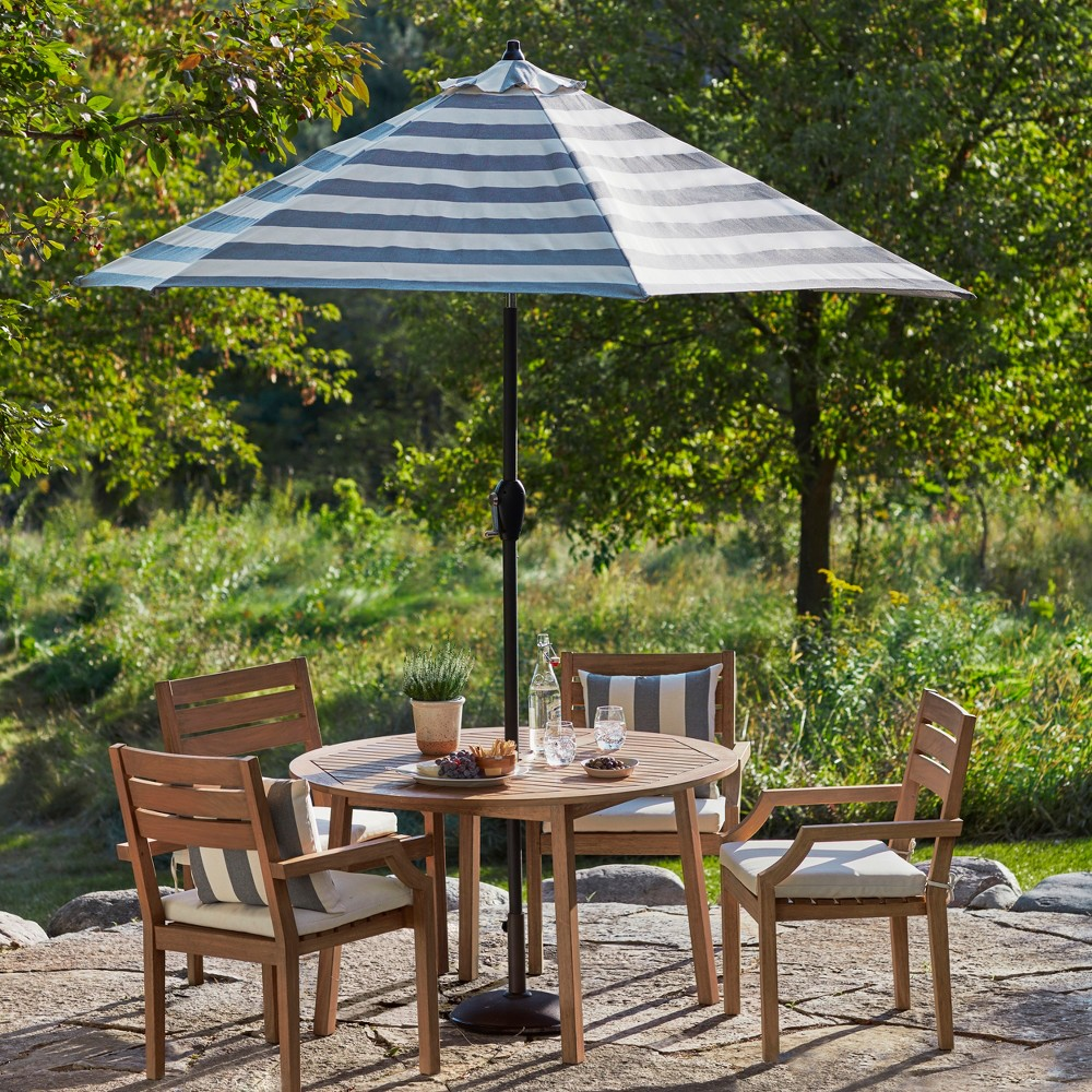 Chesapeake 5pc Wood Patio Dining Set - Threshold