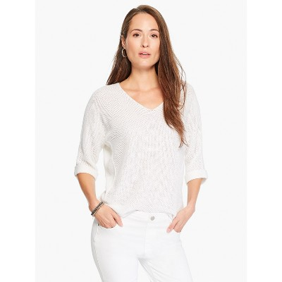 NIC+ZOE Women's Easy Texture Sweater
