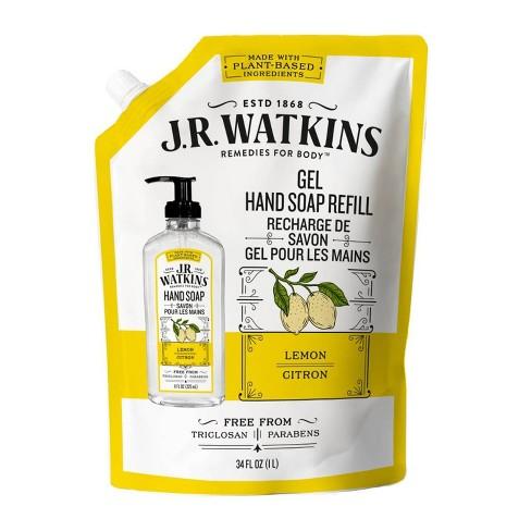 J.R. Watkins Lemon Gel Hand Soap Refill - 34 fl oz - image 1 of 3
