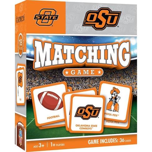 NCAA Oklahoma State Cowboys Matching Game - image 1 of 2