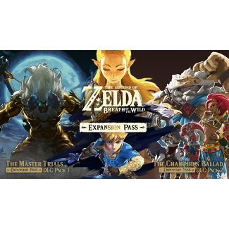 The Legend of Zelda: Breath of the Wild Expansion Pass - Nintendo Switch (Digital)