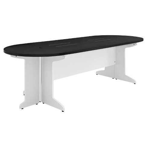 Pursuit Large Conference Table WhiteGray Altra Target - Large oval conference table