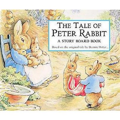The Tale of Peter Rabbit: A Story Board Book (Board Book)(Beatrix Potter)