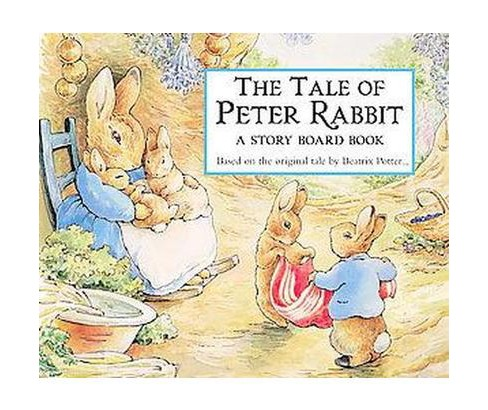 The Tale of Peter Rabbit: A Story Board Book (Board Book) (Beatrix Potter) - image 1 of 1