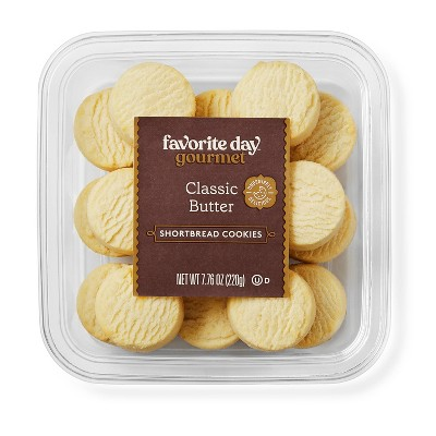 Classic Butter Shortbread Cookies - 7.76oz - Favorite Day™