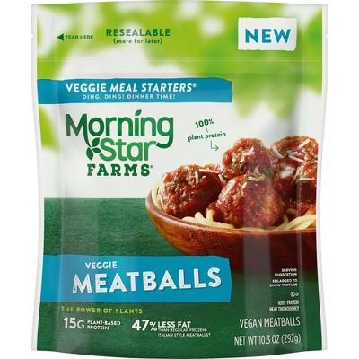 MorningStar Farms Veggie Meatballs - Frozen - 10.3oz