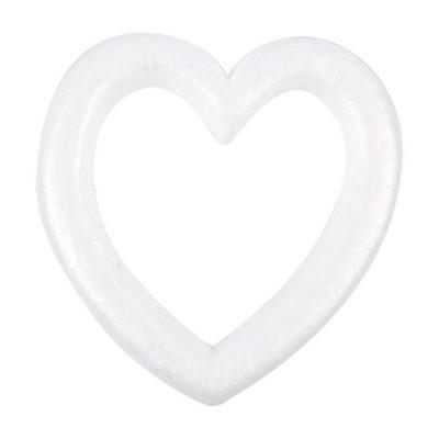white 144 Hearts foam 1 12 inch craft suuplies
