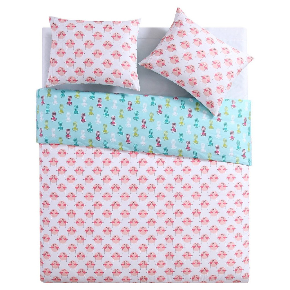 Image of Tropical Duvet Cover Set (Full/Queen) 3pc - Clairebella