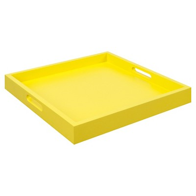 Palm Beach Tray - Yellow - Convenience Concepts