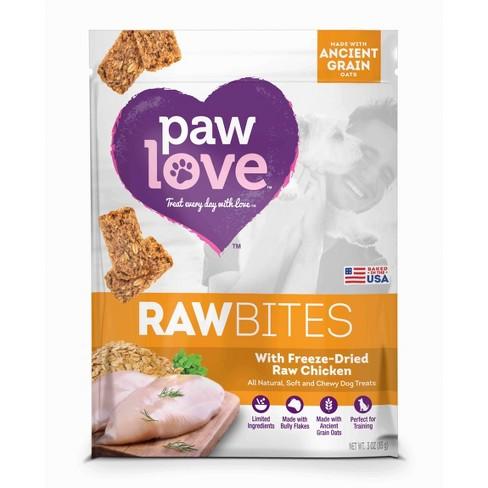 Paw Love Raw Bites Freeze-Dried Chicken - 3oz - image 1 of 1