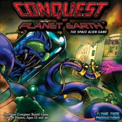 Conquest of Planet Earth - The Space Alien Game Board Game