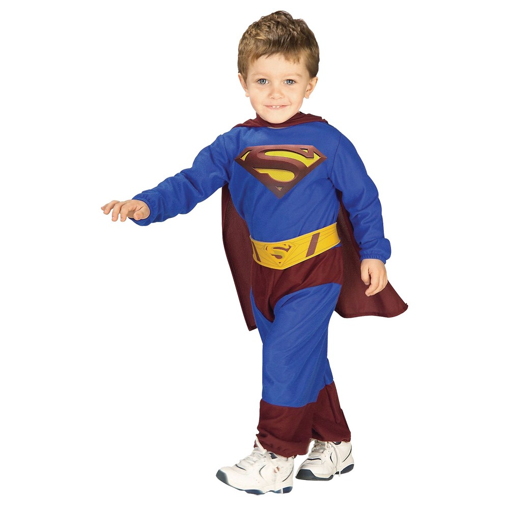 Boys' Superman Toddler Costume, Size: 2T-4T, Multi-Colored