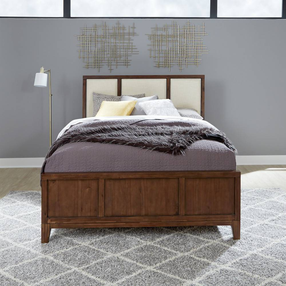Bungalow Bed Medium Brown Home Styles