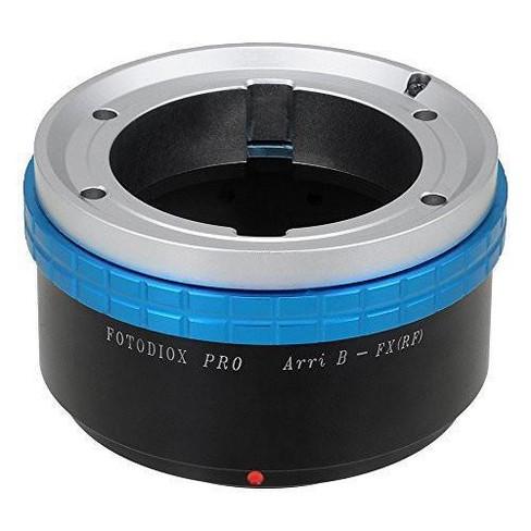 Fotodiox Pro Lens Mount Adapter for Arri Bayonet (Arri-B) Mount SLR Lens to Fujifilm Fuji X-Series Mirrorless Camera Body - image 1 of 4