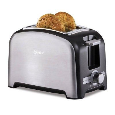 Oster 2 Slice Wide Slot Toaster - Brushed Stainless Steel 2153501
