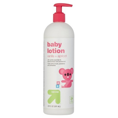 Baby Lotion with Vanilla & Apricot - 20 fl oz - up & up™