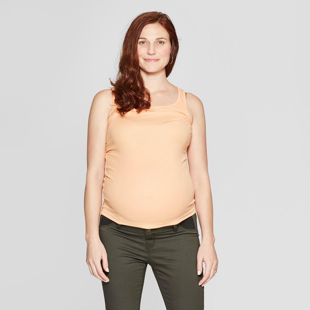 Maternity Side Panel Skinny Pants - Isabel Maternity by Ingrid & Isabel Dark Green 8, Women's