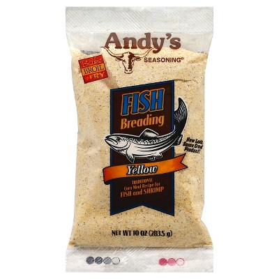 Andy's Fish Breading Yellow - 10oz