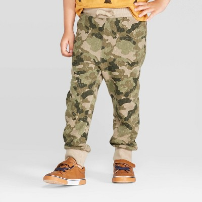 Toddler Boys' Camouflage Jogger Pants - art class™ Green 18M