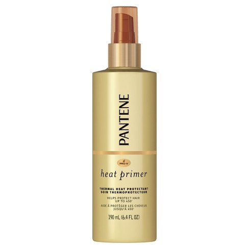 Pantene Pro-V Nutrient Boost Heat Primer Thermal Heat Protection Pre-Styling Spray - 6.4 fl oz - image 1 of 4